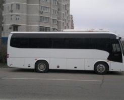 Заказ автобуса Higer 30 мест с водителем в Москве недорого