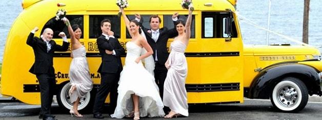 Заказ автобуса на свадьбу в Москве