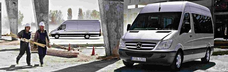 Аренда автобуса для перевозки рабочих в Москве