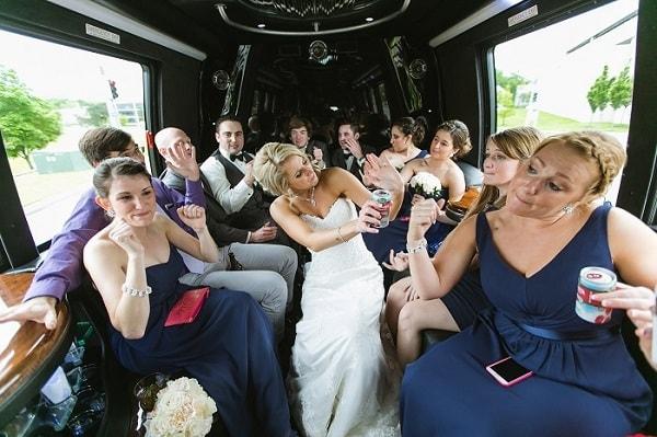 Аренда свадебного автобуса в Москве