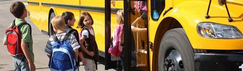 Автобус для школьников в Москве